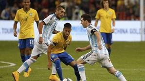 Brasil derrota Argentina em jogo amigável