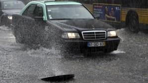 Évora, Beja e Faro sob aviso laranja devido à chuva