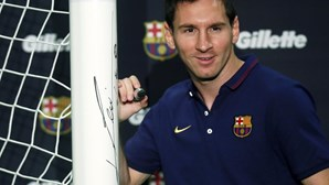 Messi continua triste pela final perdida do Mundial2014