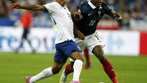 Em direto: França 2-1 Portugal