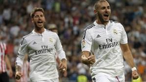 Benzema e Varane desfalcam Real Madrid