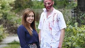 Zombie abordado pelas autoridades