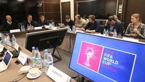 """FIFA """"muito satisfeita"""" com avanços do Mundial2018"""