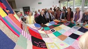 Tricotar para ajudar idosos