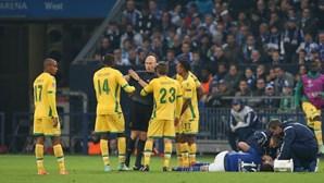 Sporting queixa-se na UEFA por penálti inexistente