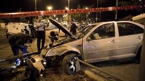 Confrontos entre jovens palestinianos e polícia israelita