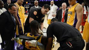 Randle parte perna na estreia pelos Los Angeles Lakers