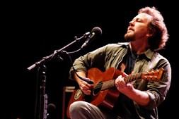 Eddie Vedder, vocalista dos Pearl Jam