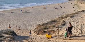 1º: Beja vai contar com 34 graus de temperatura máxima (na imagem, a praia do Malhão, no distrito de Beja)