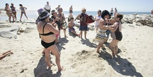 6º: Braga vai contar com 31 graus de temperatura máxima (na imagem, a praia da Apúlia, no distrito de Braga)