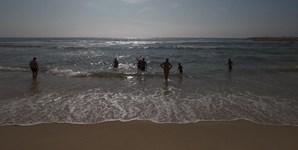 8º: Coimbra vai contar com 30 graus de temperatura máxima (na imagem, a praia Poço da Cruz, no distrito de Coimbra)