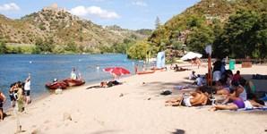 11º: Portalegre vai contar com 29 graus de temperatura máxima (na imagem, a praia fluvial do Alamal, no distrito de Portalegre)