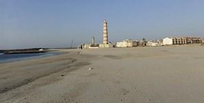 15º: Aveiro vai contar com 27 graus de temperatura máxima (na imagem, a praia da Barra, no distrito de Aveiro)