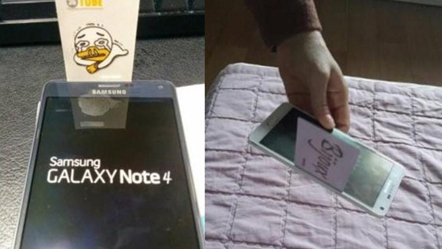 Consumidores queixam-se de espaço entre o ecrã e a estrutura metálica do Galaxy Note 4