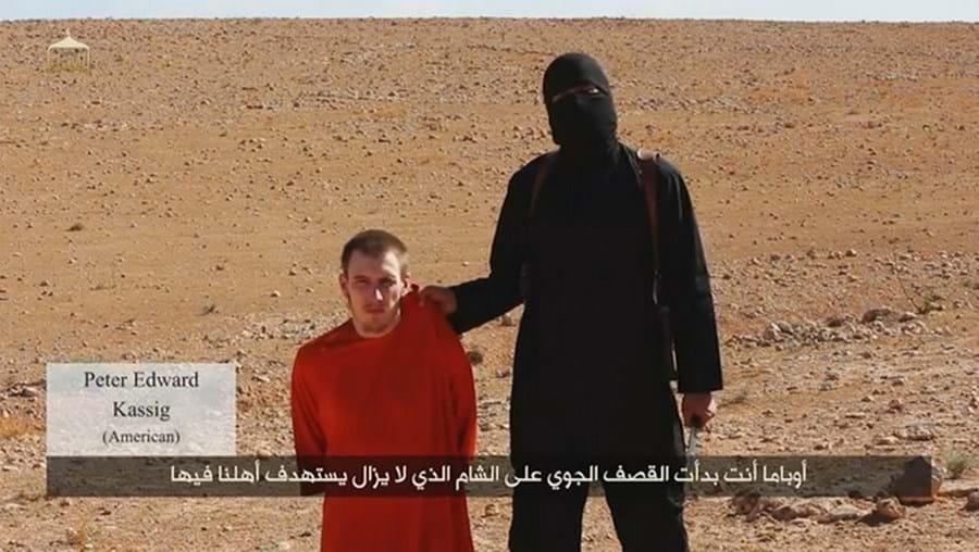 O norte-americano foi decapitado pelos 'jihadistas'