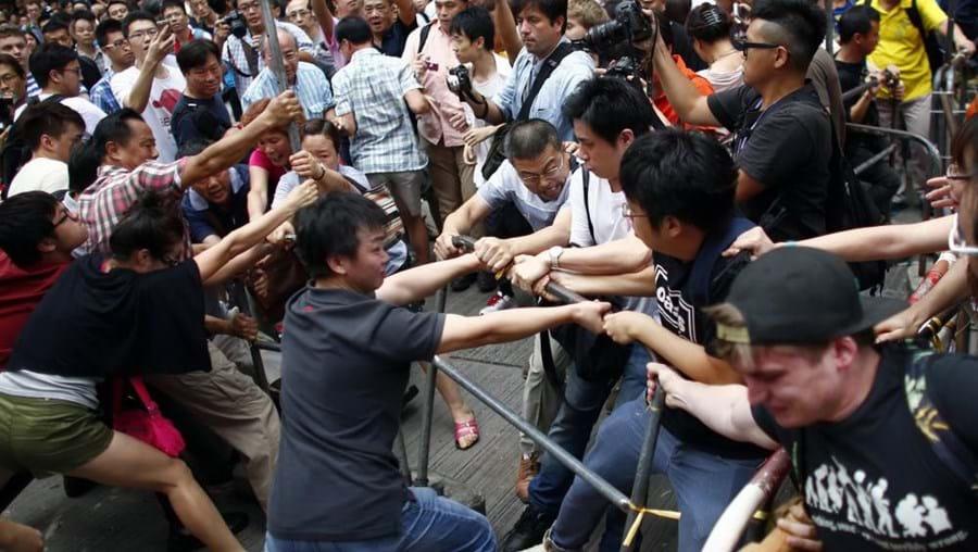 Manifestação em Hong Kong, Pequim