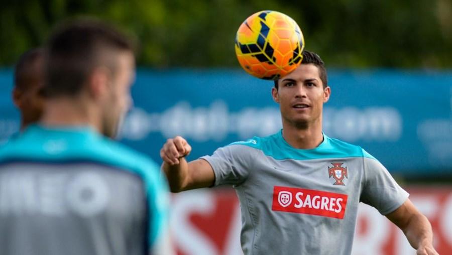Cristiano Ronaldo esclareceu divergências em Óbidos