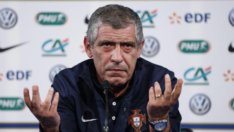 Santos não quer a equipa a pensar na Dinamarca