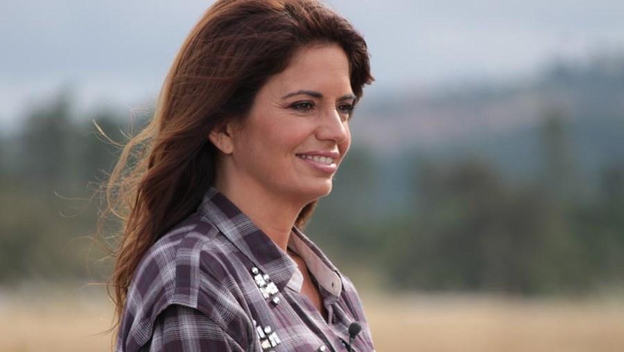 Na imagem, a apresentadora Bárbara Guimarães