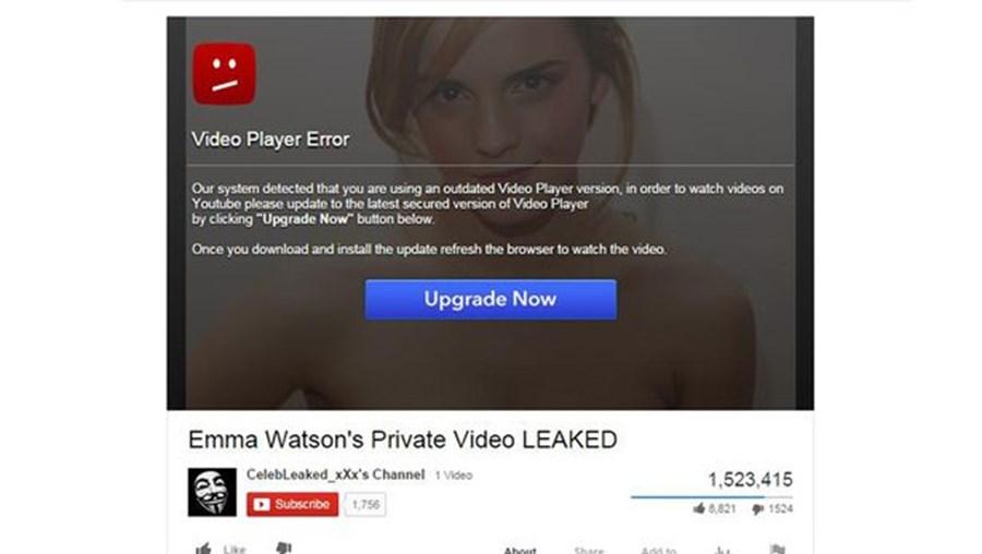 Emma Watson volta a ser usada em pirataria informática