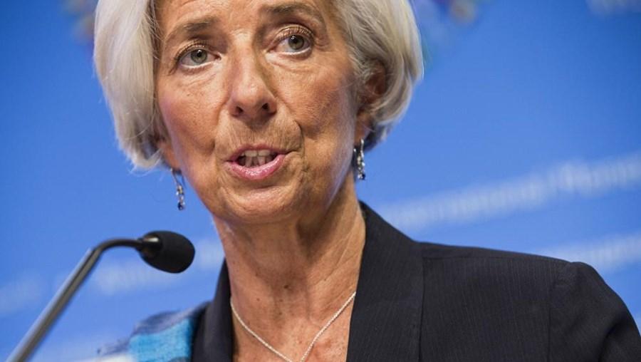 A diretora do Fundo Monetário Internacional Christine Lagarde