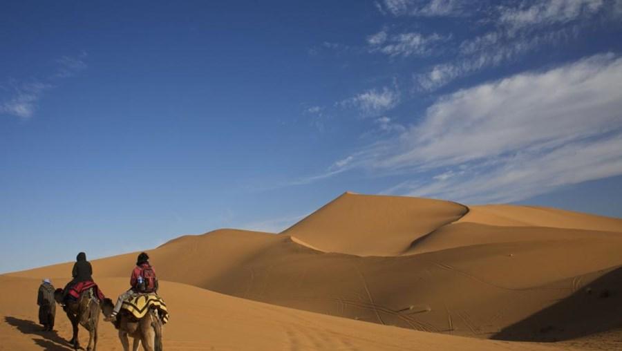 Deserto do Sahara, na Argélia