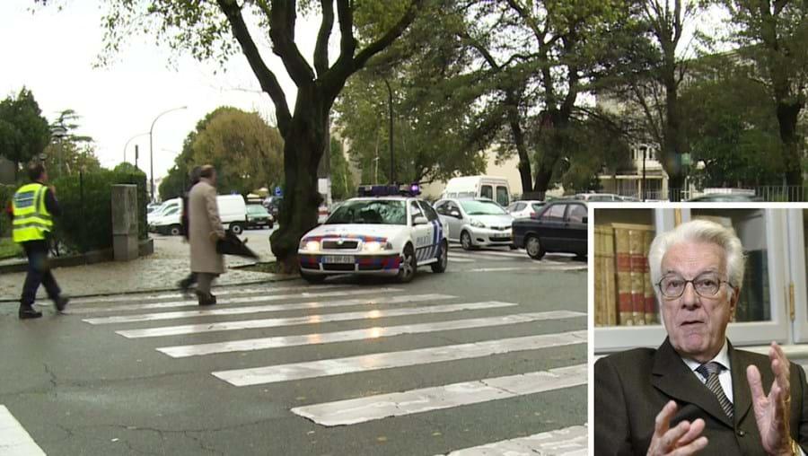 Daniel Serrão (foto peq.), de 86 anos, foi atropelado quando atravessava na passadeira, a caminho do café, em Paranhos, no Porto