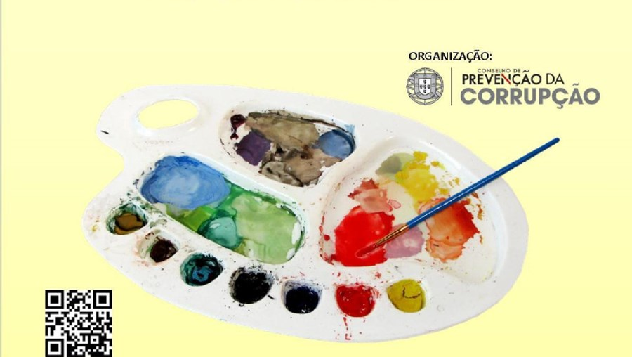 Imagem do concurso promovido pelo Conselho de Prevenção da Corrupção