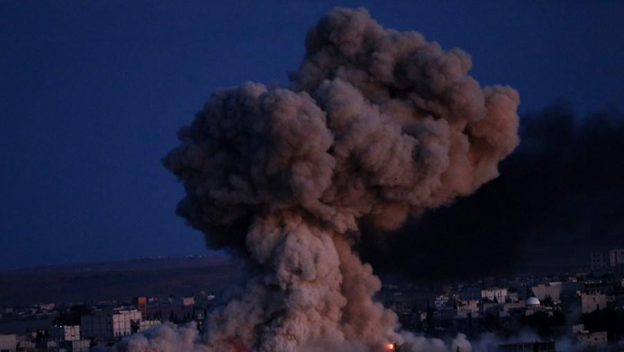 Aviação norte-americana bombardeou posições dos jihadistas