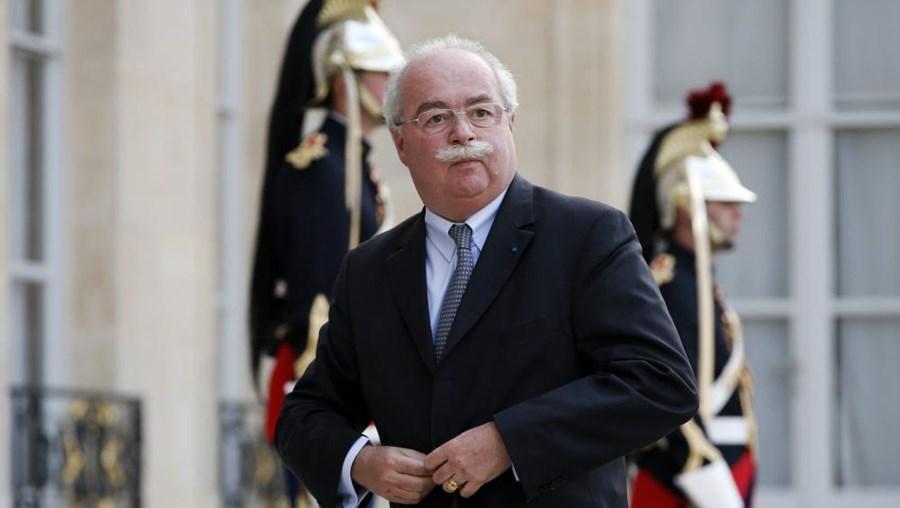 Na imagem, o CEO do grupo petrolífero francês Total