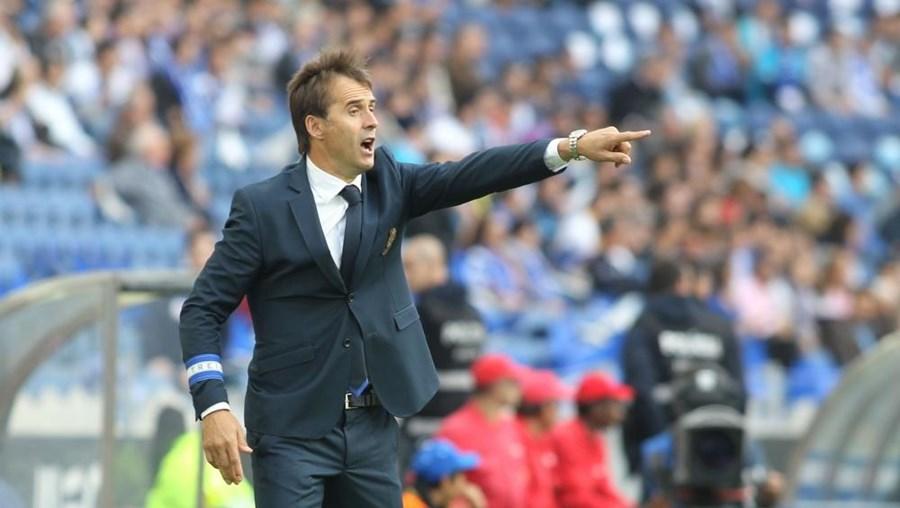 Julen Lopetegui, treinador do FC Porto