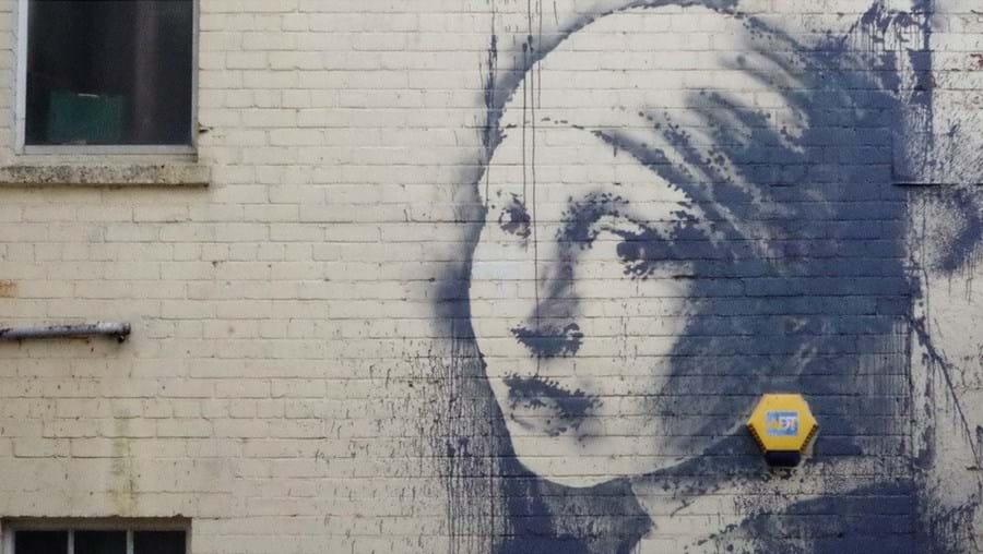 Esta é a mais recente obra de Banksy