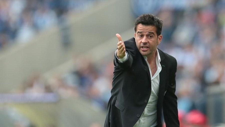 Marco Silva , treinador do Sporting