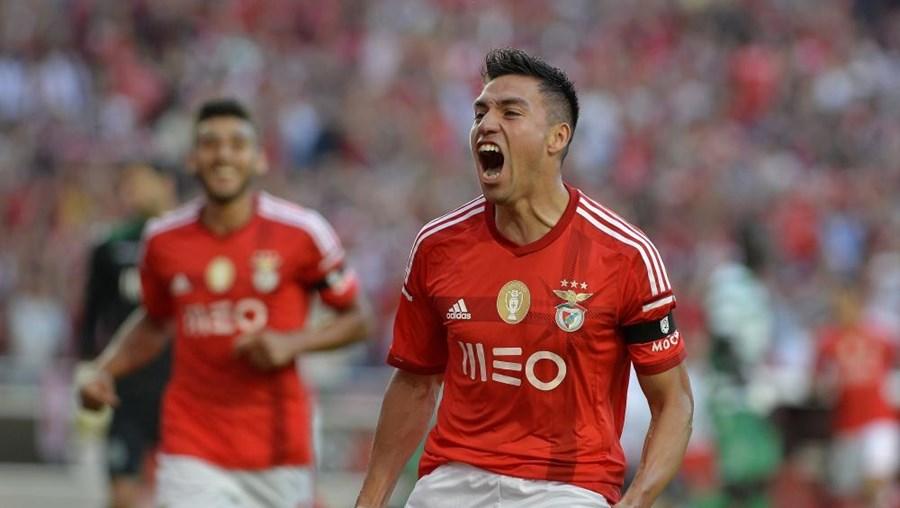 Nico Gaitán, jogador do Benfica