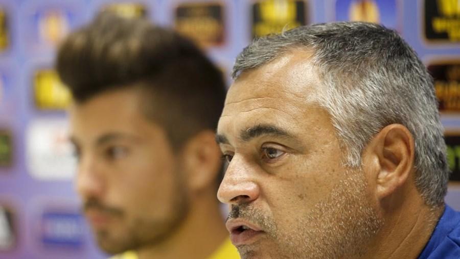 """Quando uma equipa tem tudo para ganhar e, de repente, tudo se transforma, é altamente frustrante"""", afirmou José Couceiro"""