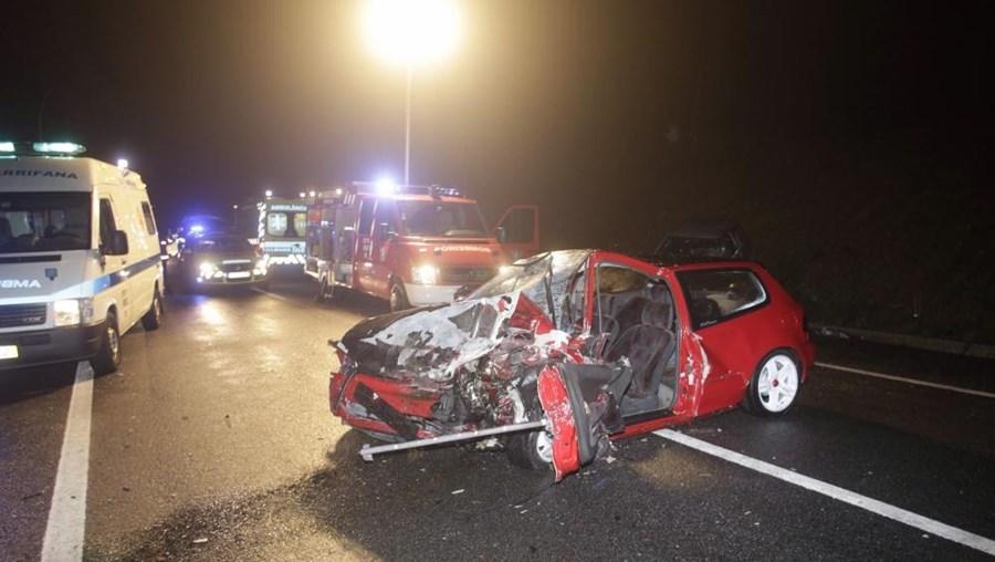 O IC2 é uma estrada com numerosos acidentes