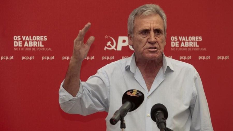 Secretário-geral do PCP, Jerónimo de Sousa