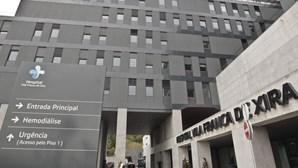 Um morto e 42 infetados com coronavírus no Hospital de Vila Franca de Xira