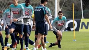 Portugal treina no Estádio da Luz