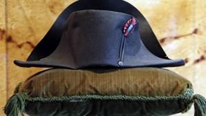 Chapéu de Napoleão vendido por cerca de 1,9 milhões de euros