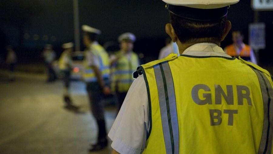 """Das 102 detenções em """"flagrante delito"""", 68 foram por condução sob o efeito de álcool"""