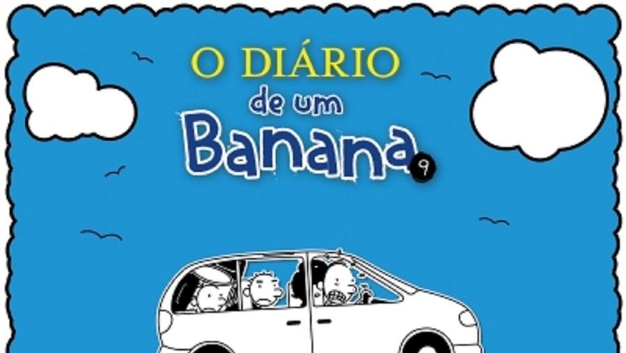 'O Diário de um Banana 9: assim vais longe' conta a aventura que Greg vive durante uma viagem de carro que a mãe organiza para toda a família