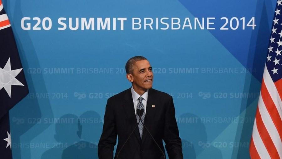 Barack Obama falou deste acordo na cimeira dos países do G20, na cidade australiana de Brisbane
