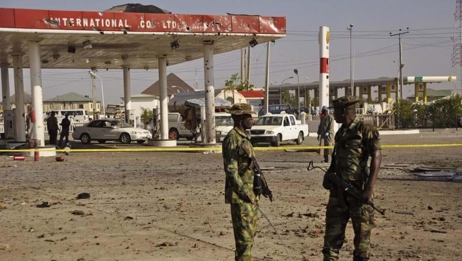 """""""Estão em curso operações de limpeza, mas a cidade está segura"""", disse o porta-voz do Exército"""
