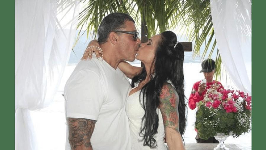 Alexandre Frota e Fabiana estavam casados pelo registo civil desde 2011