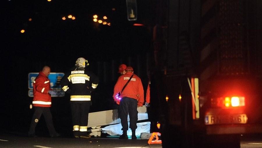 Ao local compareceu uma ambulância dos Bombeiros Voluntários de Monção