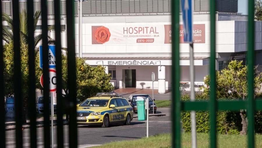 A vítima foi transportada para o Hospital de Beja