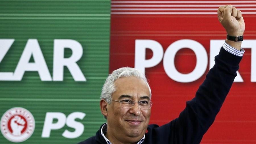 António Costa, líder do PS