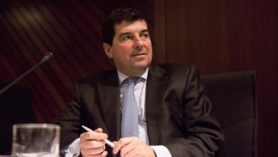 O presidente do Novo Banco, Eduardo Stock da Cunha