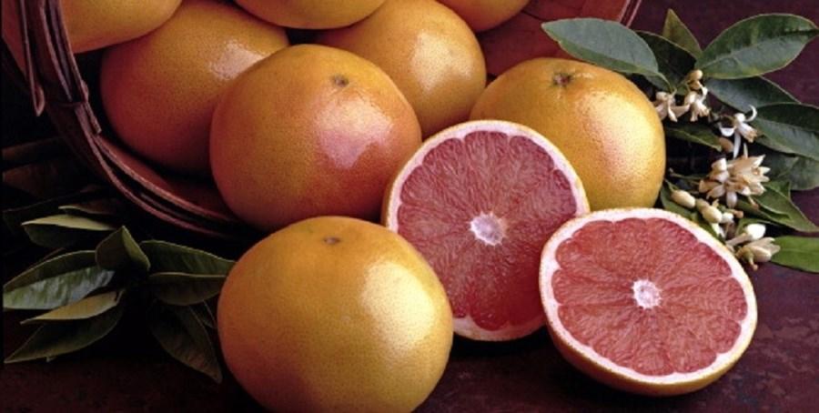 A toranja acelera o metabolismo e ajuda a queimar calorias. Este citrino, que é também rico em fibras, vai ajudar a sentir-se saciado e a estabilizar os níveis de glucose no sangue. Experimente adicioná-la em saladas ou a um sumo 'detox'